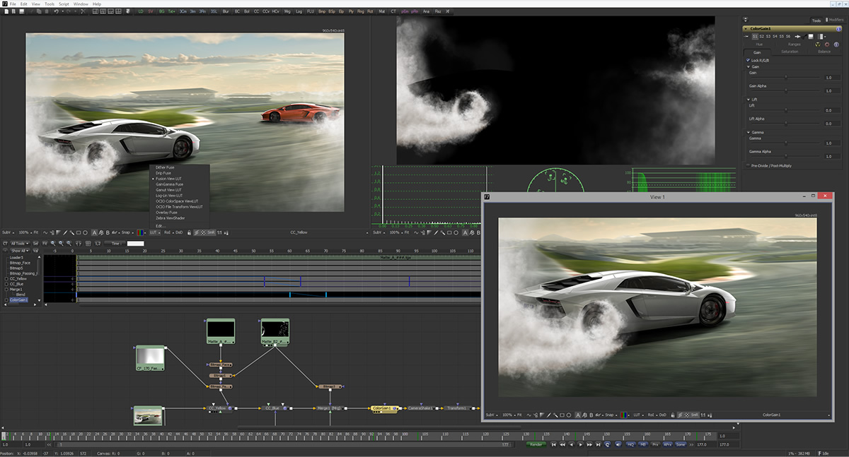 Fusion VFX software from Blackmagic FREE - Informacije o android