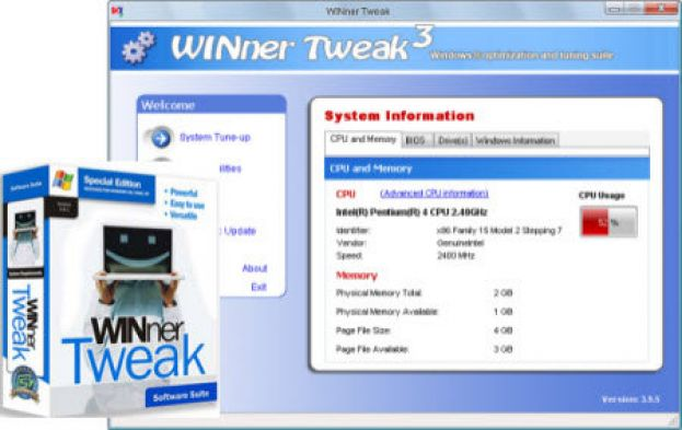 WINner Tweak 3 ProFREE PROMO LICENCE