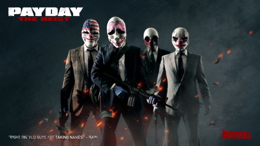 PayDay: The Heist FREE ON STEAM October 18th