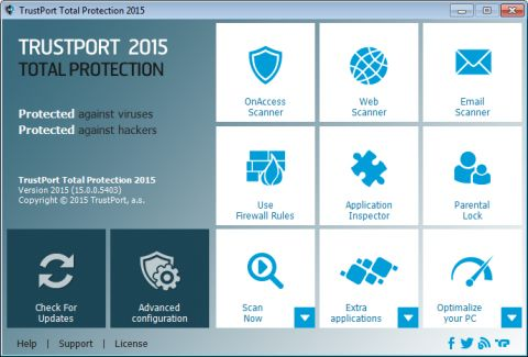 TrustPort Total Protection 2015 BESPLATAN!